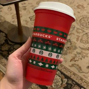 Starbucks LE holiday hot cup
